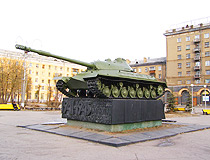 IS-3 tank in Magnitogorsk