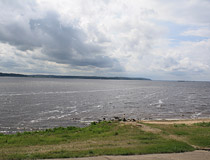 The Volga River in Mari El Republic