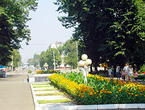 Maykop is a green city