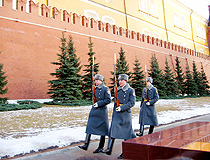The guard of the Moscow Kremlin