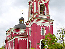 Church in Moskovskaya oblast