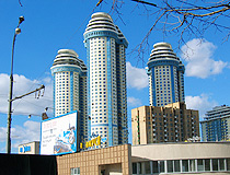 Modern architecture in Moscow