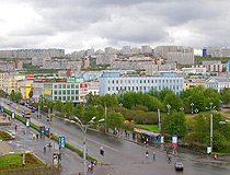 General view of Murmansk