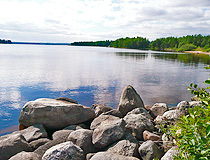 Lake in the Murmansk region