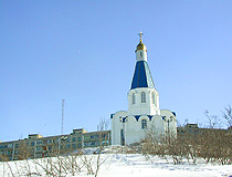 Church of the Savior on the waters in Murmansk