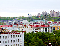 Murmansk city view