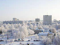 Naberezhnye Chelny in winter