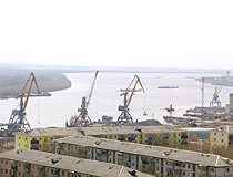 Nefteyugansk river port