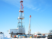 Extraction of oil in the Nenets region