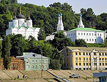 Annunciation Monastery - the oldest monastery in Nizhny Novgorod