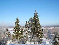 Winter in Nizhny Novgorod province