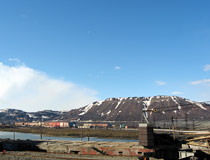 Mount Schmidt in Norilsk