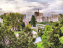 Novokuznetsk city scenery