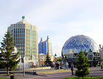 Novosibirsk city scenery