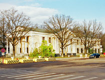 The main office building of the Institute of Physics and Power Engineering in Obninsk