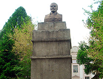 Lenin monument in Omsk
