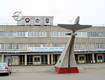 Yak-9 monument in Omsk