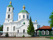 Tarskaya Church, the oldest in Omsk