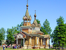 Church in the Omsk region