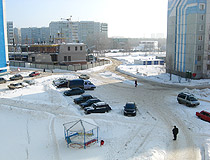 Winter in Orenburg