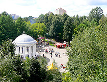 Rotunda in Gorky Park in Perm