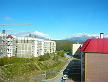 Apartment buildings in Petropavlovsk-Kamchatsky
