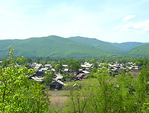 Primorye region village