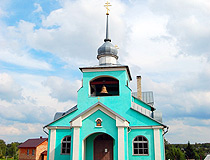 Orthodox church in Pskovskaya oblast