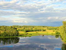 Pskov region nature view