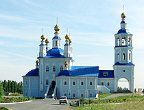 Cathedral in the Rostov region