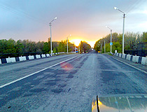 Traveling on the roads of the Rostov region