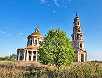 Abandoned cathedral in Ryazan oblast