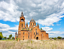 Abandoned church in Ryazan province