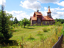 Wooden church in Ryazan oblast