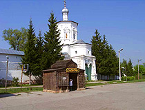 Monastery in Solotcha in the Ryazan region