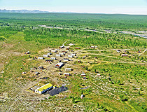 Small settlement in Sakha (Yakutia)