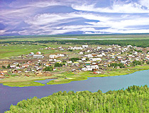 Sakha republic village