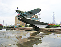 Il-2 monument in Samara