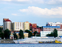 Samara - one of the centers of cruise tourism
