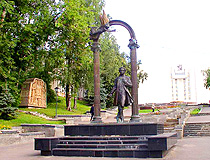 Pushkin monument in Saransk