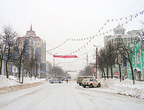 Winter in Saransk