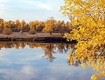 Golden autumn in Saratov province