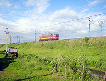Railway in the Saratov region