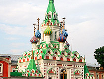 Church in Saratov city
