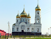Orthodox church in Saratov oblast