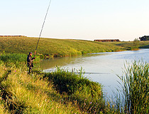 Fishing in the Saratov region
