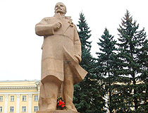 Lenin monument in Smolensk