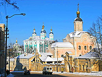 Troitsky Monastery and the Assumption Cathedral in Smolensk