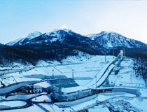 Mountain Cluster - the ski jumping venue