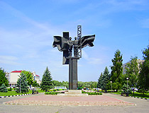 The Monument to Soviet-Bulgarian friendship in Stary Oskol